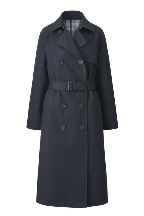 Clothing, Coat, Trench coat, Outerwear, Overcoat, Sleeve, Collar, Duster, Jacket,