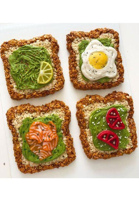 Food, Finger food, Ingredient, Cuisine, Baked goods, Dish, Dessert, Recipe, Breakfast, Snack,