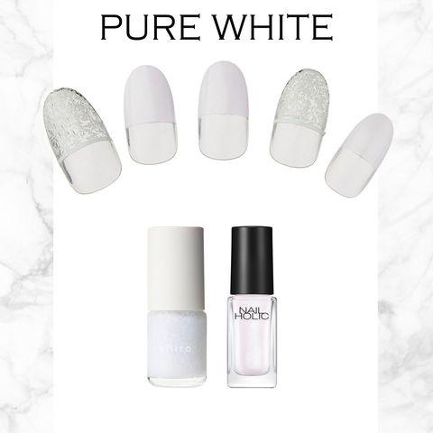 Nail polish, White, Nail care, Cosmetics, Product, Nail, Skin, Beauty, Material property, Manicure,