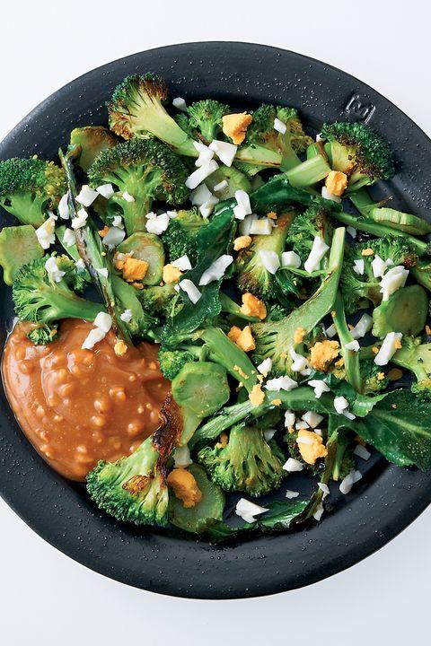 ブロッコリとゆで卵のサラダ