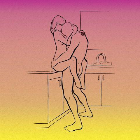 Standing, Illustration, Cartoon, Drawing, Table, Arm, Line, Sketch, Art, Leg,