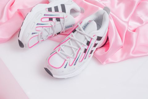 Footwear, White, Pink, Product, Shoe, Sneakers, Font, Athletic shoe, Walking shoe,