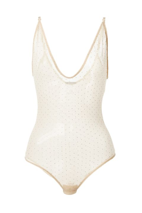 Clothing, Lingerie, Undergarment, Swimwear, One-piece swimsuit, Monokini, Lingerie top, Beige, camisoles, Bikini,