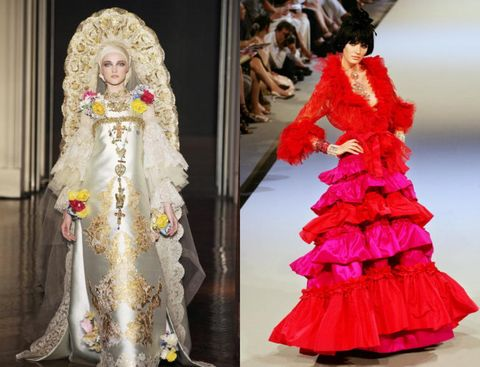 Pink, Clothing, Fashion, Dress, Gown, Haute couture, Costume design, Fashion design, Doll, Tradition,