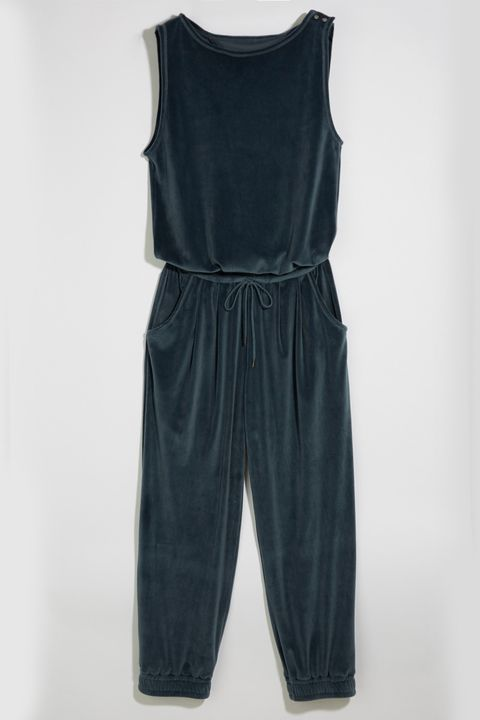 Clothing, Black, One-piece garment, Overall, Dress, Trousers, Sleeve, Denim,