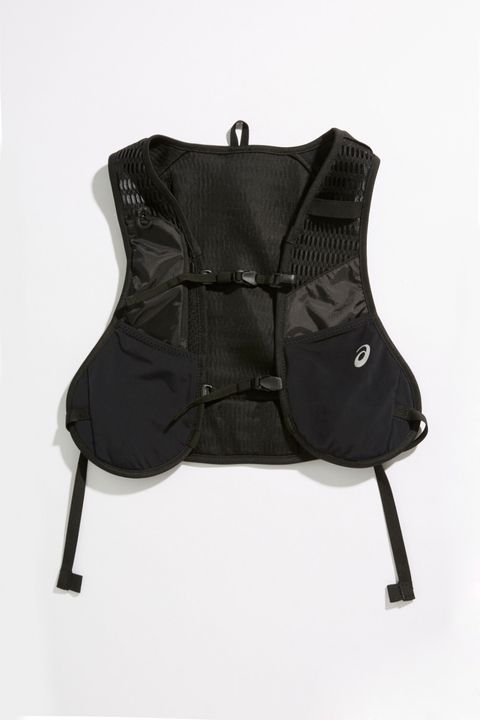 Black, Outerwear, Personal protective equipment, Vest, Chair,