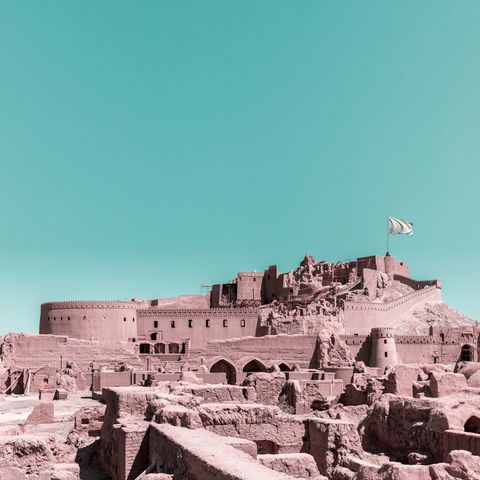 Historic site, Ancient history, Landmark, Ruins, Archaeological site, Wall, Fortification, History, Tourism, Sky,