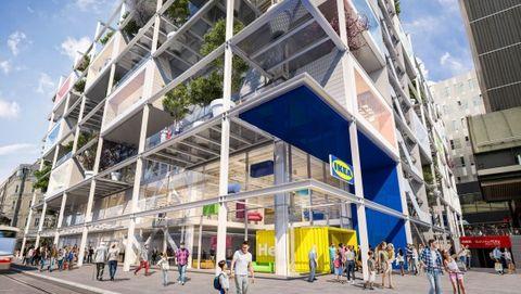 Building, Mixed-use, Architecture, Metropolitan area, Property, Neighbourhood, Town, Commercial building, Facade, Real estate,
