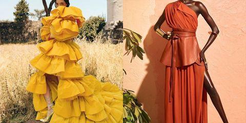 2020年秋冬ニューヨーク・ファッション・ウィーク、クリストファー ジョン ロジャーズ、フィー ノエル