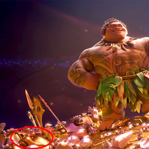 Disney Easter Eggs - Moana