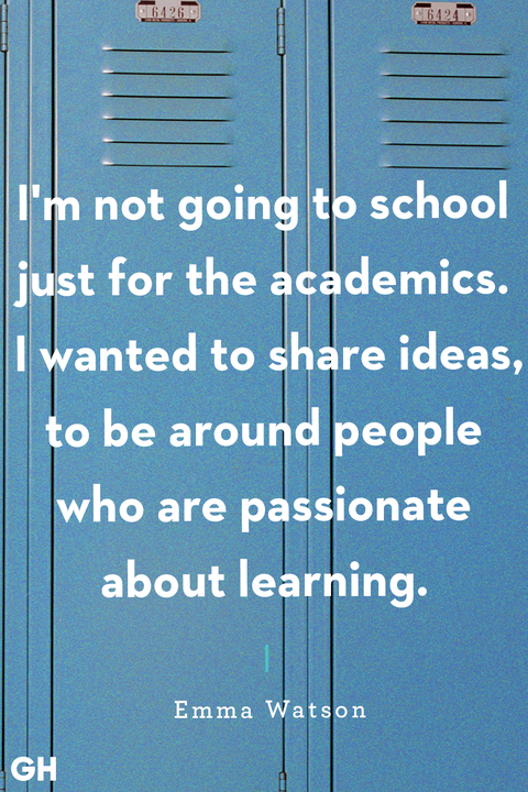 back to school quotes — emma watson