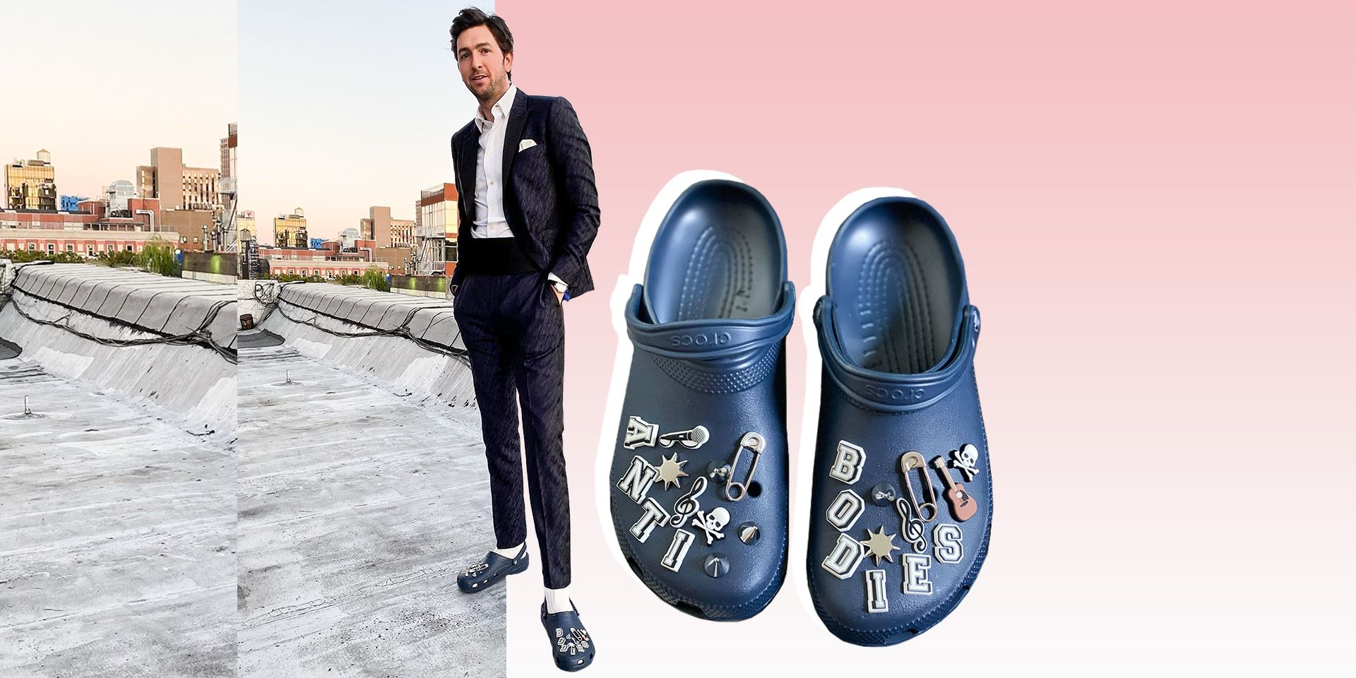 Crocs Are Back in Style for Men, and