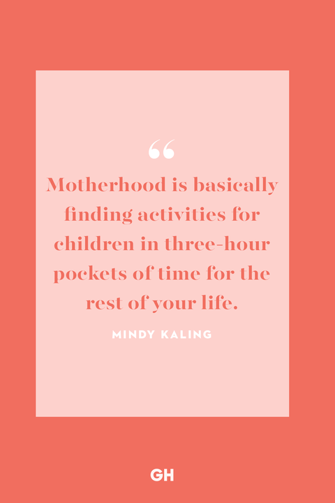 funny mom quote from mindy kaling