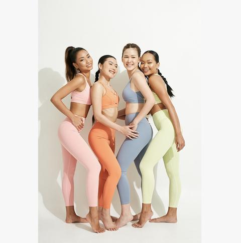 瑜伽,瑜伽服瑜伽褲運動褲女性運動服女性運動褲運動內衣