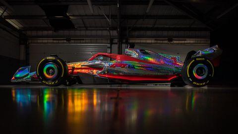 prototipo oficial de los fórmula 1 de 2022