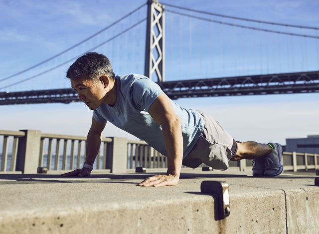 after embracing weight training last summer, 44 year old fitbit ceo james park slashed his body fatby about 20 percent and improved both his balance and his total body strength