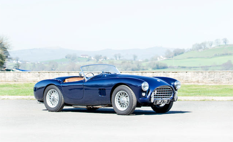 Land vehicle, Vehicle, Car, Sports car, Coupé, Classic car, Race car, Automotive design, Ferrari 166 s, Ac ace,