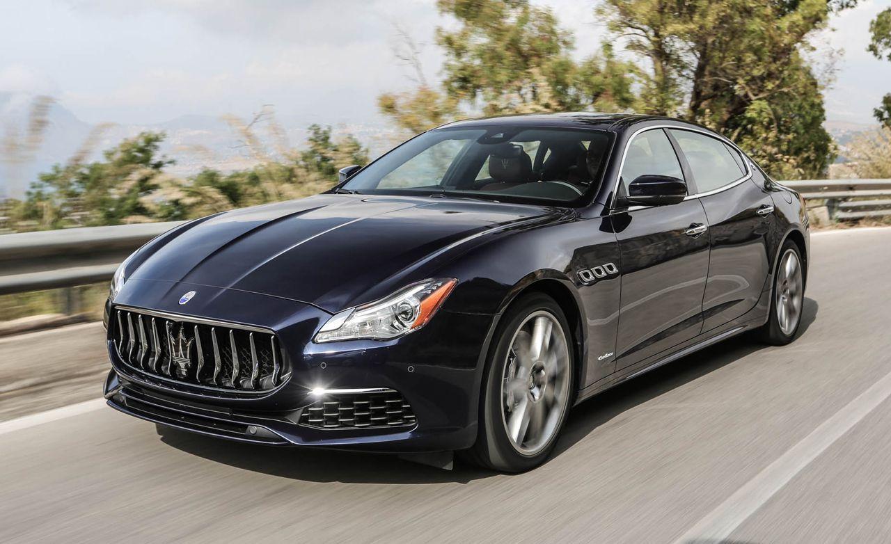 2019 Maserati Quattroporte Review, Pricing, and Specs