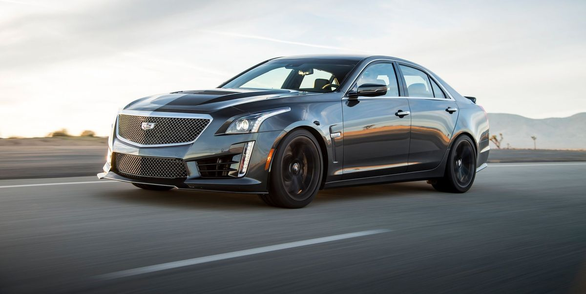 2019 Cadillac CTS-V Review, Pricing, and Specs