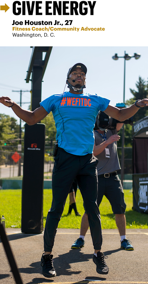 give energy