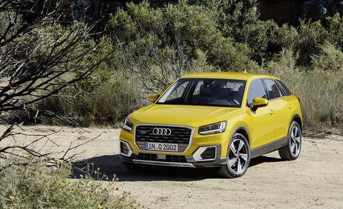 Land vehicle, Vehicle, Car, Motor vehicle, Audi, Automotive design, Luxury vehicle, Sport utility vehicle, City car, Compact sport utility vehicle,