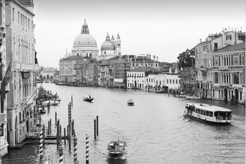 Waterway, Canal, White, Water, Water transportation, Black-and-white, Town, Boat, City, Channel,