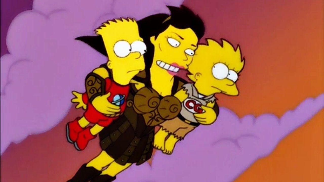 los simpson episodios halloween