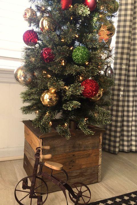 wood tree box diy christmas tree stands