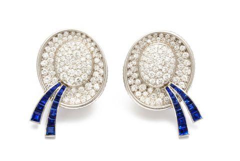 boater hat earrings