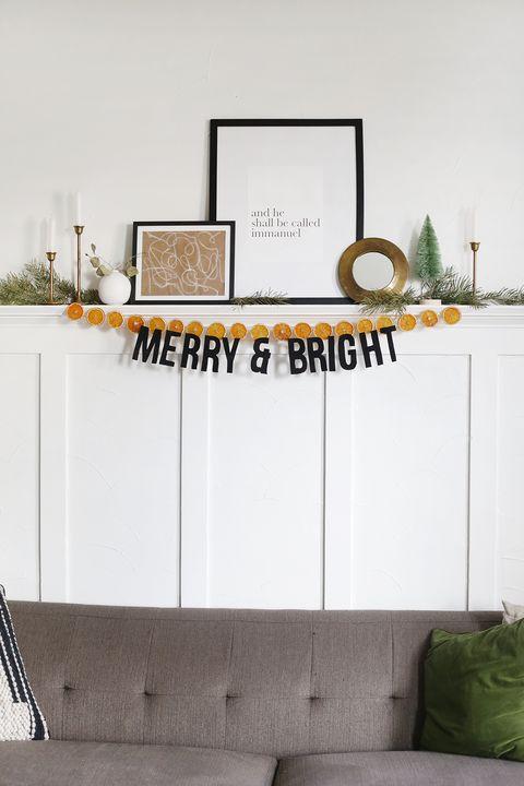 diy felt holiday garland christmas garland ideas