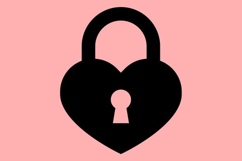Heart, Lock, Padlock, Love, Illustration, Symbol, Security,