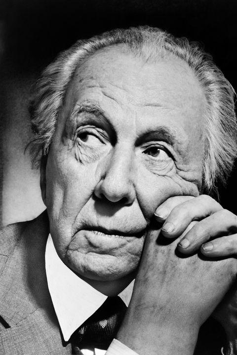 Potrait Of Frank Lloyd Wright