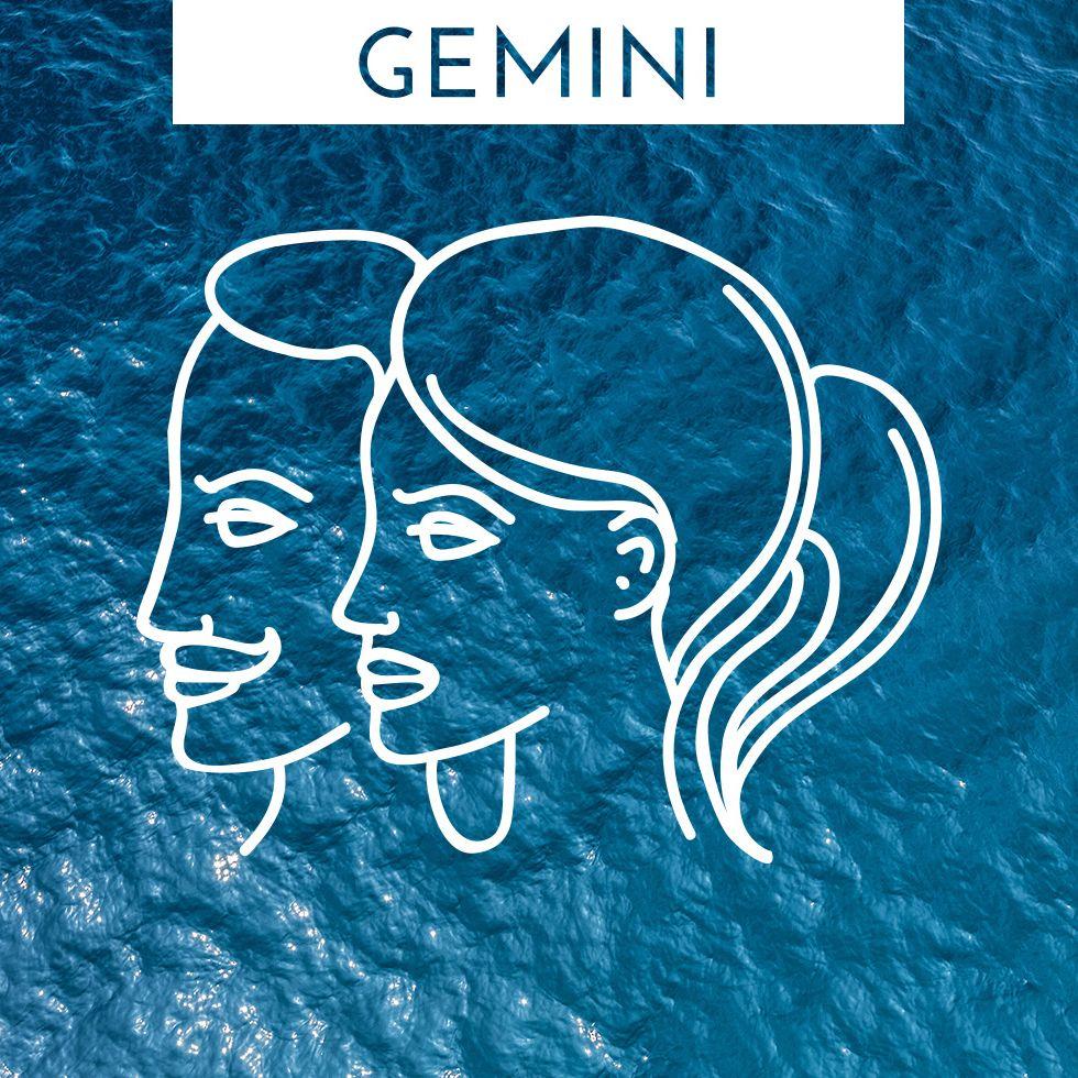 Gemini zodiac horoscope symbol