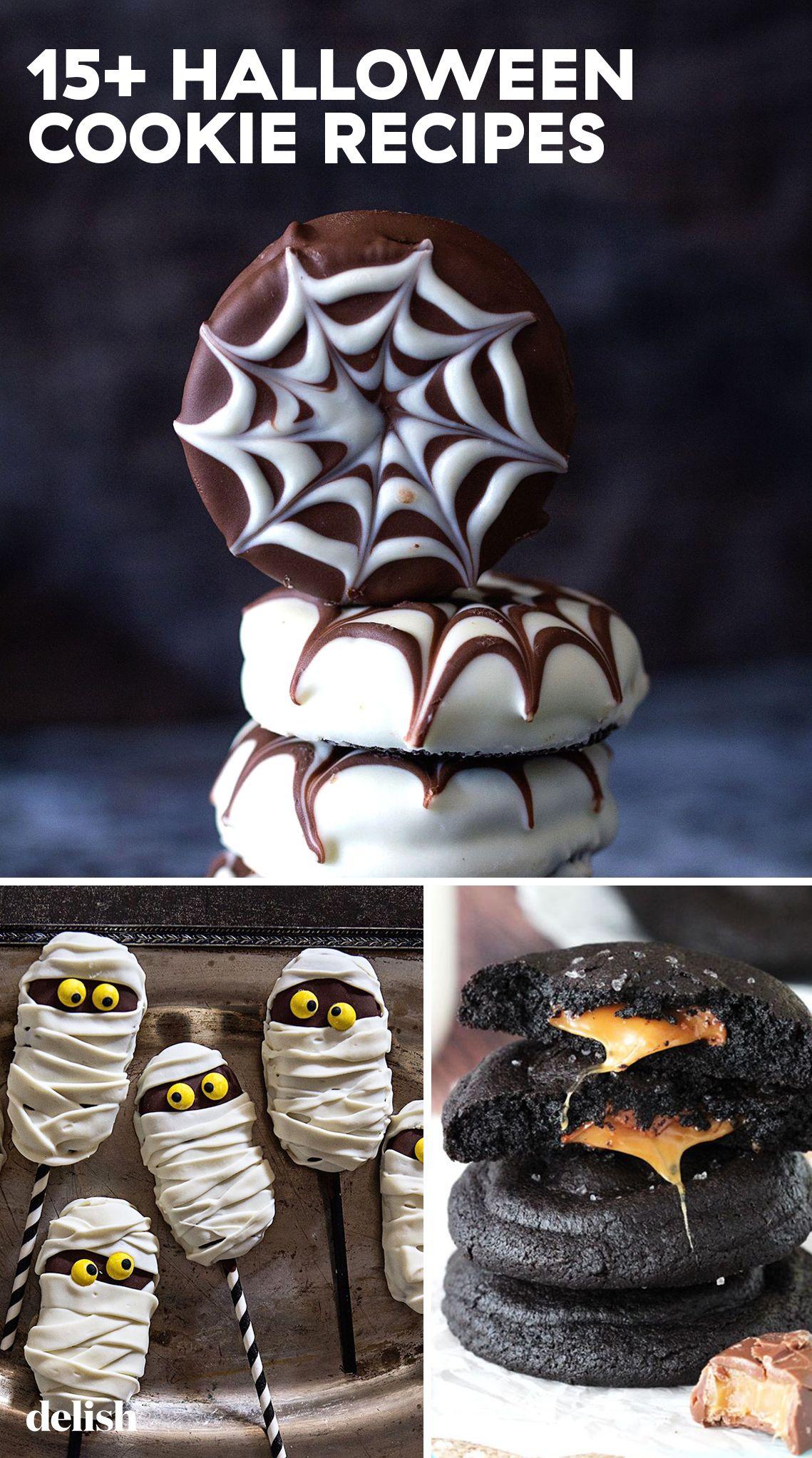 15+ easy halloween cookies - easy recipes & ideas for halloween
