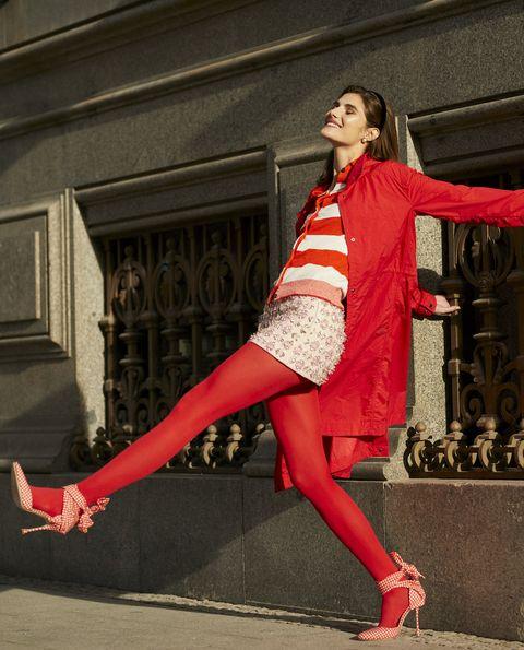 looks rojo moda tendencias