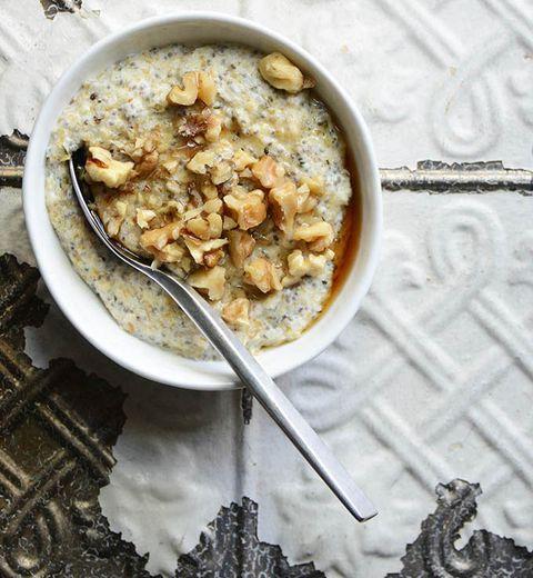 Dish, Food, Cuisine, Breakfast cereal, Ingredient, Meal, Oatmeal, Breakfast, Cereal, Porridge,