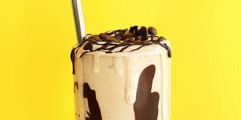 3-ingredient mocha milkshake