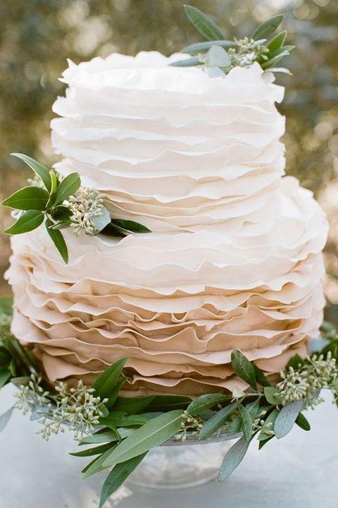 ウエディングケーキ アイデア 結婚式 ウエディング テクスチャードケーキ ケーキ おしゃれ トレンド