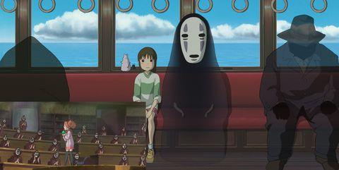 mary y la flor de la bruja el viaje de chihiro