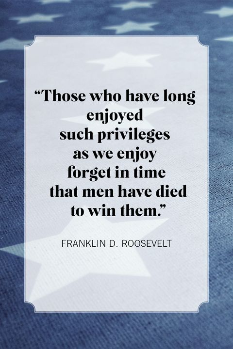 franklin d roosevelt memorial day quotes