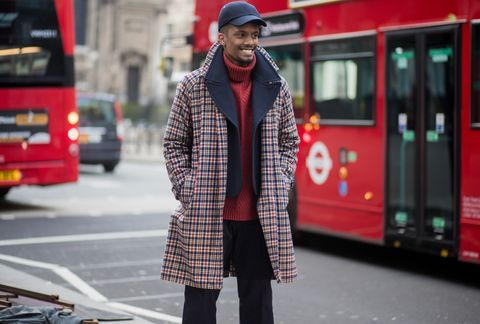 London Fashion Week Fall 2018 Menswear Street Style
