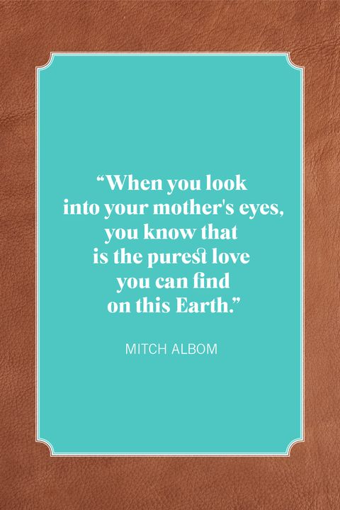 mother son quotes albom