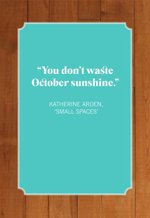 october quotes katherine arden, 'small spaces'