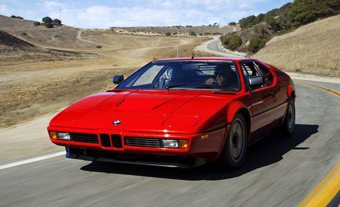 Land vehicle, Vehicle, Car, Personal luxury car, Sports car, Coupé, Bmw m1, Bmw, Supercar, Automotive design,