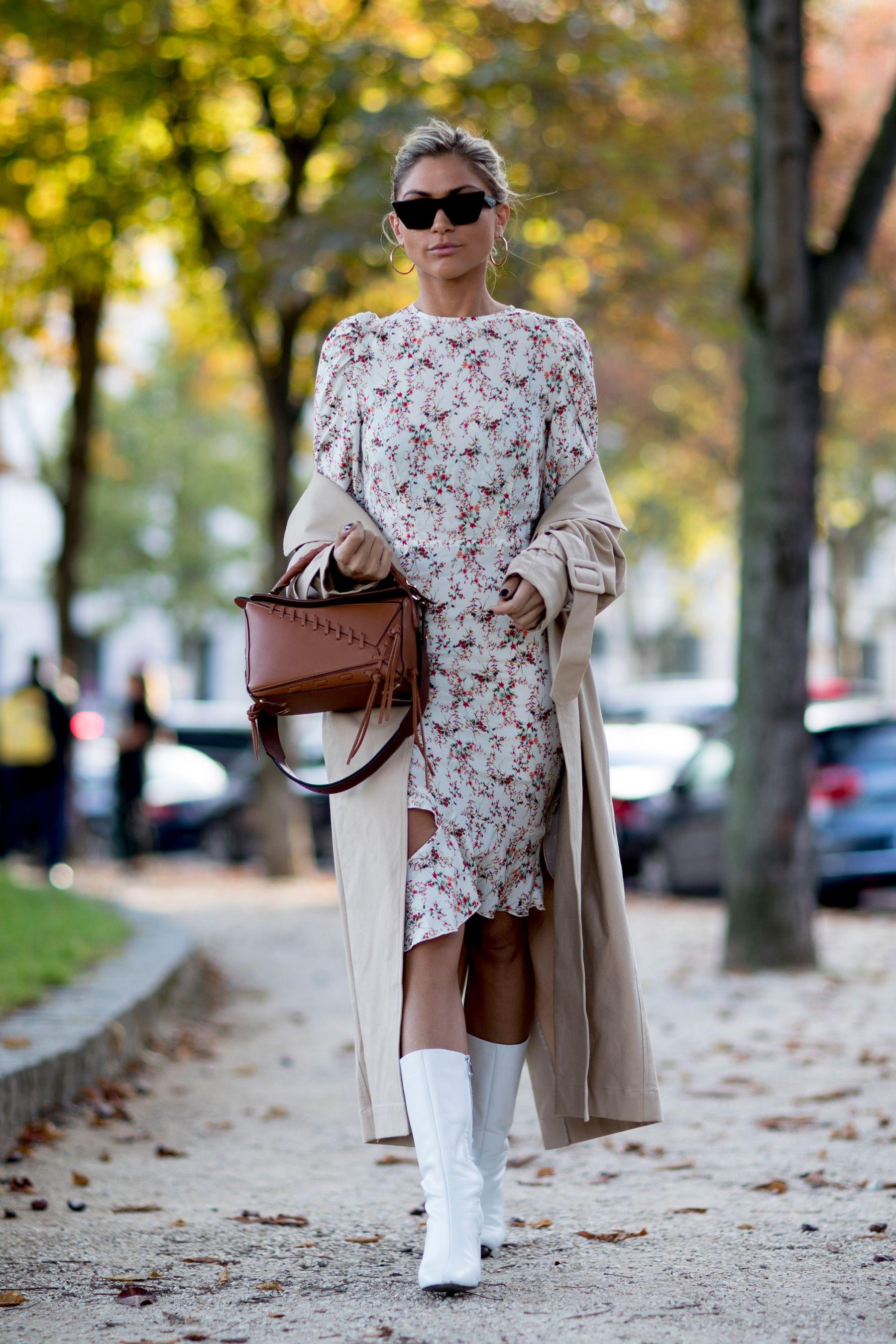 Loooks vestidos y botas