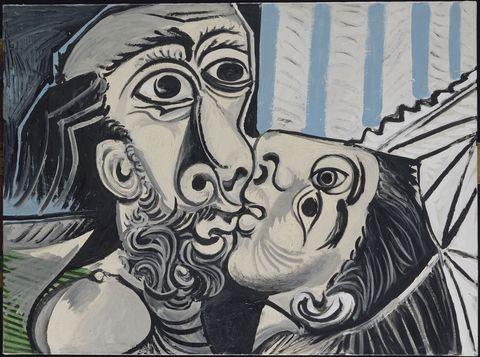 Le Baiser- il bacio -Pablo Picasso
