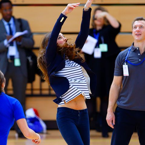 kate middleton volleyball