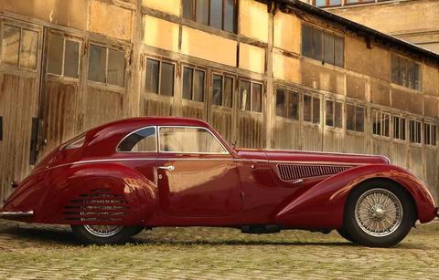 1939 Alfa Romeo 8C 2900B Berlinetta