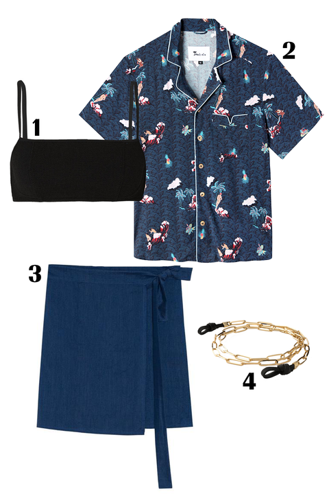 Clothing, Blue, Sleeve, T-shirt, Collar, Design, Uniform, Pattern, Button, Denim,