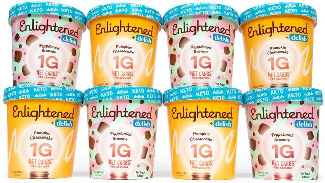 enlightened x delish seasonal ice creams